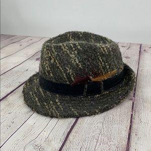 San Diego hat Co green fedora